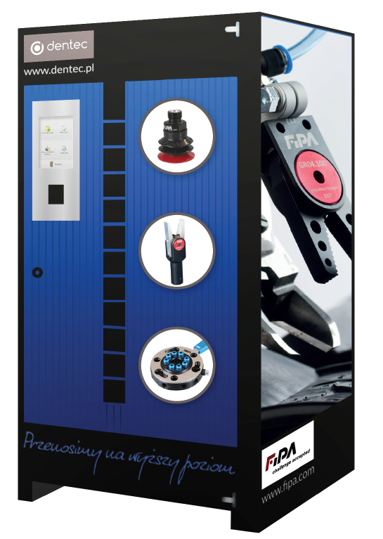 Kazik vending machine for EOAT components